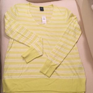 Lightweight Florescent Yellow Sweater